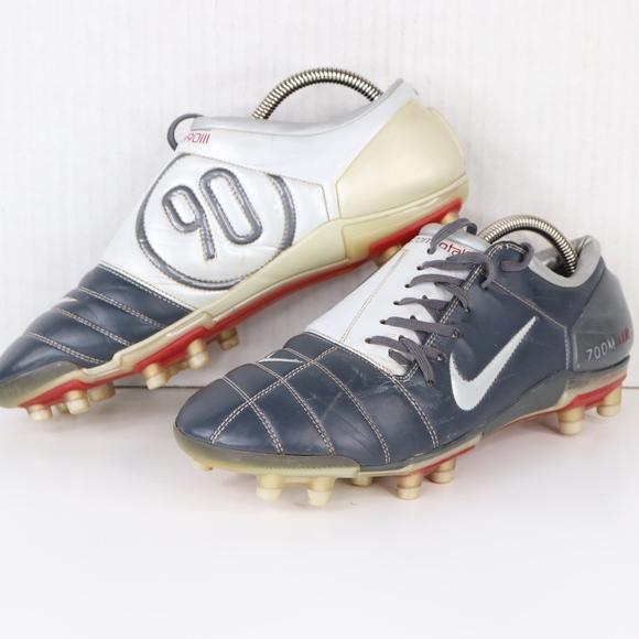 Nike Mens 10 Total 90 III FG Soccer Shoes Blue